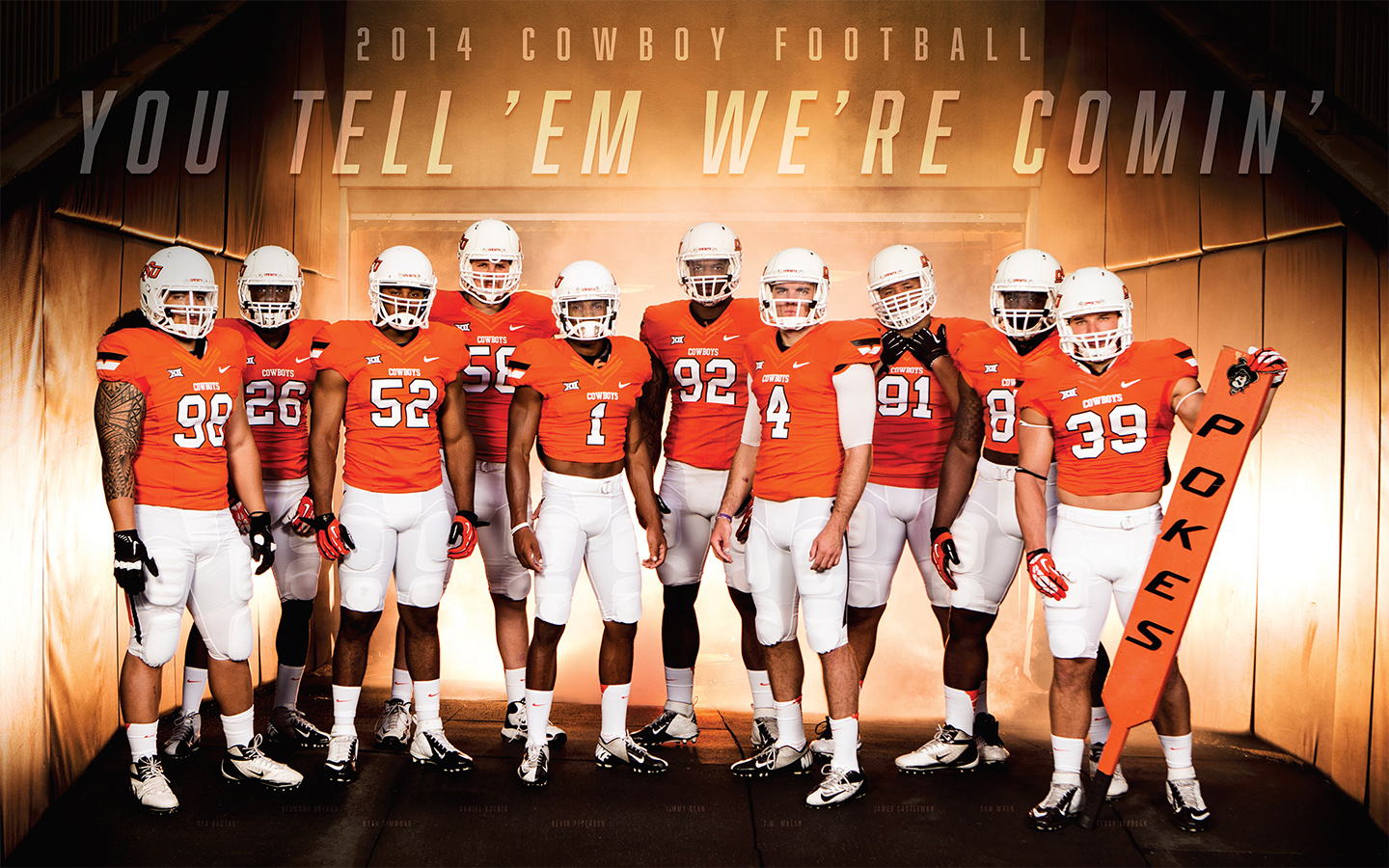 Cowboy Football Wallpaper Oklahoma State University Athletics